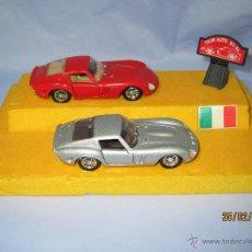 Coches a escala: PEANA CON PAREJA DE FERRARI 250 GTO TOUR AUTO 1963-64 EN ESCALA 1/43 - AÑO 1980S.. Lote 47945657