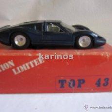 Coches a escala: FORD MK IV Nº 2 LE MANS 1967 TOP 43. SERIE LIMITADA DE SOLIDO REF. 915 I4. Lote 48646536