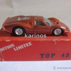 Coches a escala: FORD MK IV Nº 2 LE MANS 1967 TOP 43. SERIE LIMITADA DE SOLIDO REF. 916 I4. Lote 48646564
