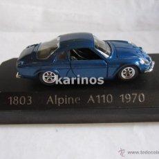 Coches a escala: ALPINE A110 1970 (RENAULT BOUTIQUE) SOLIDO. Lote 51264955