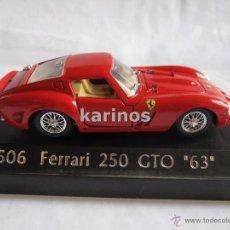 Coches a escala: FERRARI 250 GTO 193 SOLIDO. Lote 51272592