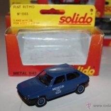 Coches a escala: FIAT RITMO SOLIDO Nº 1303. MEDECIN DE NUIT. EN CAJA.. Lote 51412677