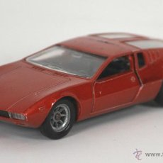 Coches a escala: MANGOUSTE DE TOMASO EN METAL. SOLIDO. ESC 1/43. REF 166. MADE IN FRANCE. 1969.. Lote 55050334