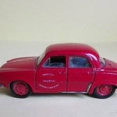 Coches a escala: SOLIDO DAUPHINE - RENAULT - SERVICE INCENDIE - 1/43. Lote 56387447