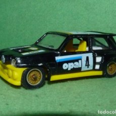 Coches a escala: RARO RENAULT MAXI TURBO 5 SOLIDO NEGRO MODELO 1353 SPORT 1:43 PUBLICIDAD OPAL MADE IN FRANCE. Lote 78070525