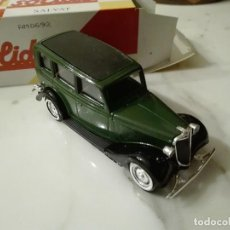 Coches a escala: FORD V8. 1936. ESCALA 1/43 SOLIDO. Lote 79555781