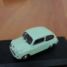 Coches a escala: SEAT 600 1958 SOLIDO COLECCION SALVAT. Lote 85392448