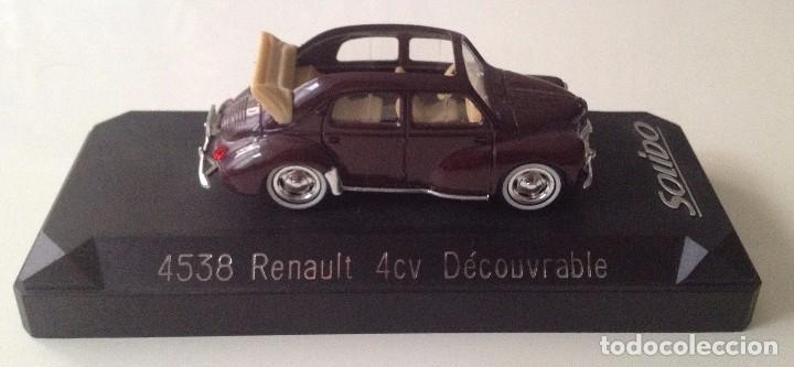 4538 RENAULT 4CV DECOUVRABLE (SOLIDO) (Juguetes - Coches a Escala 1:43 Solido)