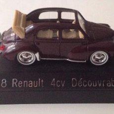 Coches a escala: 4538 RENAULT 4CV DECOUVRABLE (SOLIDO). Lote 86331680