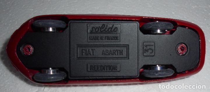 Coches a escala: SOLIDO FIAT ABARTH REEDITION 31. FRANCE. PERFECTO ESTADO. - Foto 5 - 86627556