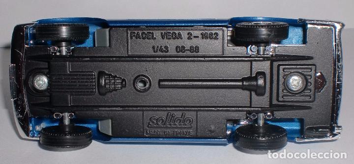 Coches a escala: SOLIDO - FACEL VEGA 2/1962 - ESCALA 1/43 - FRANCE - PERFECTO ESTADO - Foto 2 - 89357216