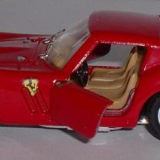 Coches a escala: SÓLIDO FERRARI 250 GTO 1963 - ESCALA 1/43 - FRANCE - PERFECTO ESTADO. Lote 89627248