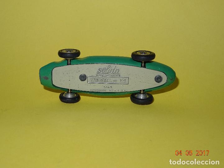 Coches a escala: Antiguo VANWALL F-1 con Suspensiones de SOLIDO Made in France - Foto 5 - 95049391