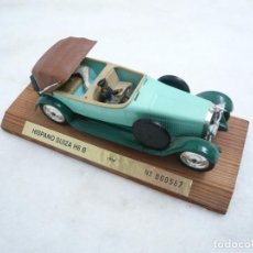 Coches a escala: COCHE HISPANO SUIZA H6 B. FABRICANTE SOLIDO. MADE IN FRANCE. ESCALA 1:43. Lote 96476719