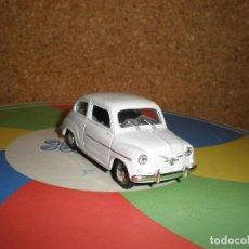 Coches a escala: SEAT 600 D,AÑO 1963,SOLIDO 1/43. Lote 98161067