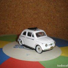 Coches a escala: FIAT 500,AÑO 1957,SOLIDO 1/43. Lote 98161355