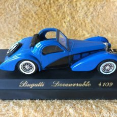 Coches a escala: SÓLIDO AGE D'OR BUGATTI DECOUVRABLE 1:43. Lote 101646331