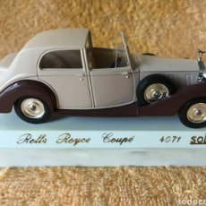 Coches a escala: SÓLIDO AGE D'OR ROLLS ROYCE COUPE 1:43. Lote 101647139