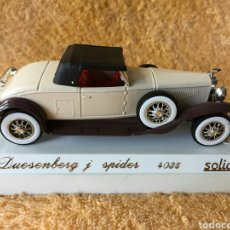 Coches a escala: SÓLIDO AGE D'OR DUESENBERG J SPIDER 1:43. Lote 101651243