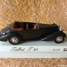 Coches a escala: SÓLIDO AGE D'OR TALBOT T23 NEGRO 1:43. Lote 101651734