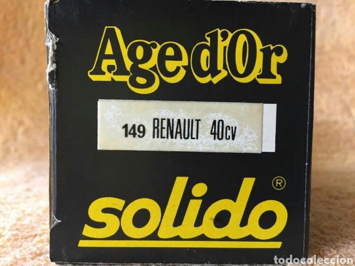 Coches a escala: Sólido Age Dor Renault 40cv 1:43 - Foto 5 - 101652088
