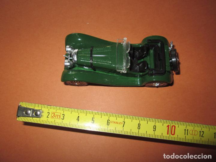 Coches a escala: coche-jaguar ss 100.1938.sólido-nuevo-ver fotos-sin caja-verde-metálico-ver fotos. - Foto 2 - 103335335