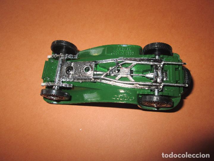 Coches a escala: coche-jaguar ss 100.1938.sólido-nuevo-ver fotos-sin caja-verde-metálico-ver fotos. - Foto 3 - 103335335