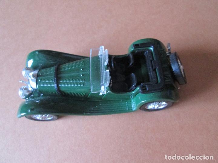 Coches a escala: coche-jaguar ss 100.1938.sólido-nuevo-ver fotos-sin caja-verde-metálico-ver fotos. - Foto 4 - 103335335