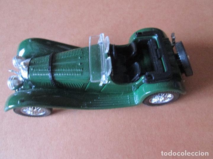 Coches a escala: coche-jaguar ss 100.1938.sólido-nuevo-ver fotos-sin caja-verde-metálico-ver fotos. - Foto 5 - 103335335