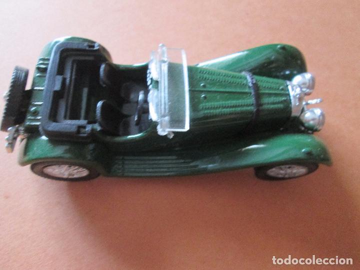 Coches a escala: coche-jaguar ss 100.1938.sólido-nuevo-ver fotos-sin caja-verde-metálico-ver fotos. - Foto 6 - 103335335
