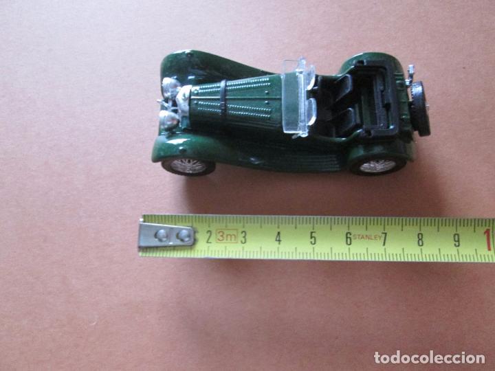 Coches a escala: coche-jaguar ss 100.1938.sólido-nuevo-ver fotos-sin caja-verde-metálico-ver fotos. - Foto 7 - 103335335