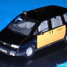 Coches a escala: FIAT ULYSSE TAXI BARCELONA, METAL ESC. 1/43, KIT CAR 43, BASE SOLIDO. IMPECABLE. Lote 110933431