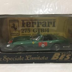Coches a escala: FERRARI 275 GTB/4 SPYDER 1983 BEST ESCALA 1:43. Lote 112550859