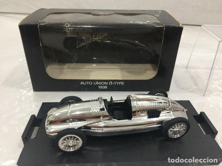 AUTOUNION D-TYPE 1938 BRUMM EDITION LIMITADA ESCALA 1:43 (Juguetes - Coches a Escala 1:43 Solido)