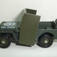 Coches a escala: JEEP WILLYS MILITAR SOLIDO ESCALA 1:43. Lote 118892975