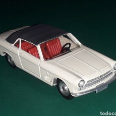 Coches a escala: FIAT 2300 S CABRIOLET GHIA REF. 133, METAL ESC. 1/43, SOLIDO MADE IN FRANCE, ORIGINAL AÑO 1964.. Lote 126375563