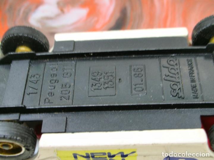 Coches a escala: SOLIDO 1/43 PEUGEOT 205 GTI RALLYE MONTE CARLO METAL MADE IN FRANCE - Foto 5 - 139100844