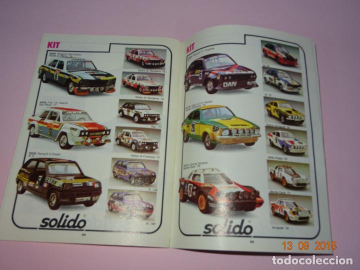 Coches a escala: Antiguo Catálogo Original de Vehículos Miniatura de SOLIDO Año 1980-81 - Foto 2 - 133366142