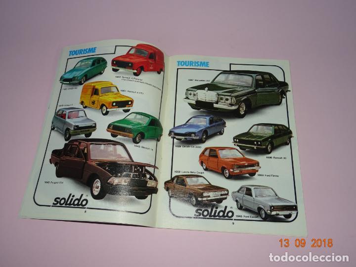 Coches a escala: Antiguo Catálogo Original de Vehículos Miniatura de SOLIDO Año 1980-81 - Foto 3 - 133366142