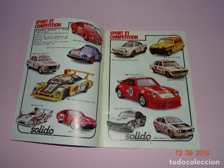 Coches a escala: Antiguo Catálogo Original de Vehículos Miniatura de SOLIDO Año 1980-81 - Foto 7 - 133366142
