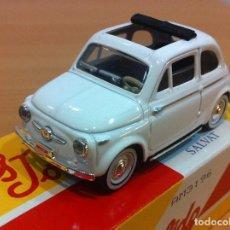 Coches a escala: COCHE SOLIDO Nº 16 - AUTO FIAT 500 (1957), CON CAJA. ESCALA 1/43. Lote 139038114
