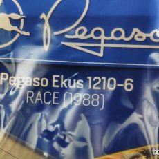 Coches a escala: GRÚA PEGASO EKUS RACE. Lote 151040974