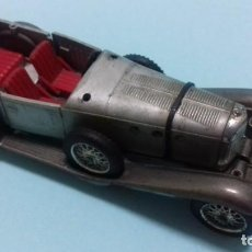Coches a escala: COCHECITO MERCEDES SS 1928, SOLIDO 1/43 MADE IN FRANCE. REF 132. 11/63. LE FALTAN PIEZAS.. Lote 154045638