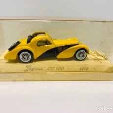 Coches a escala: JAGUAR SS 100 4002 AGE D'OR SOLIDO. Lote 158794416