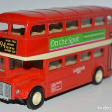 Coches a escala: AUTOBUS LONDON BUS - WELLY REF.9930 ESCALA 1/49. Lote 195347051