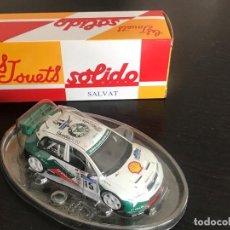 Coches a escala: SKODA FABIA WRC RALLY ESCALA 1/43 - MARCA SOLIDO - DE SALVAT - NO ALTAYA PILEN JOAL NACORAL GUISVAL. Lote 166706174