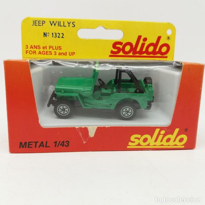 Coches a escala: Jeep Willys de SÓLIDO año 1982 - No jugado - Foto 3 - 171044059