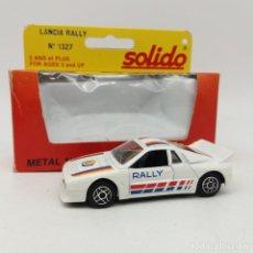 Coches a escala: LANCIA RALLY DE SÓLIDO AÑO 1983 - NO JUGADO. Lote 171044379