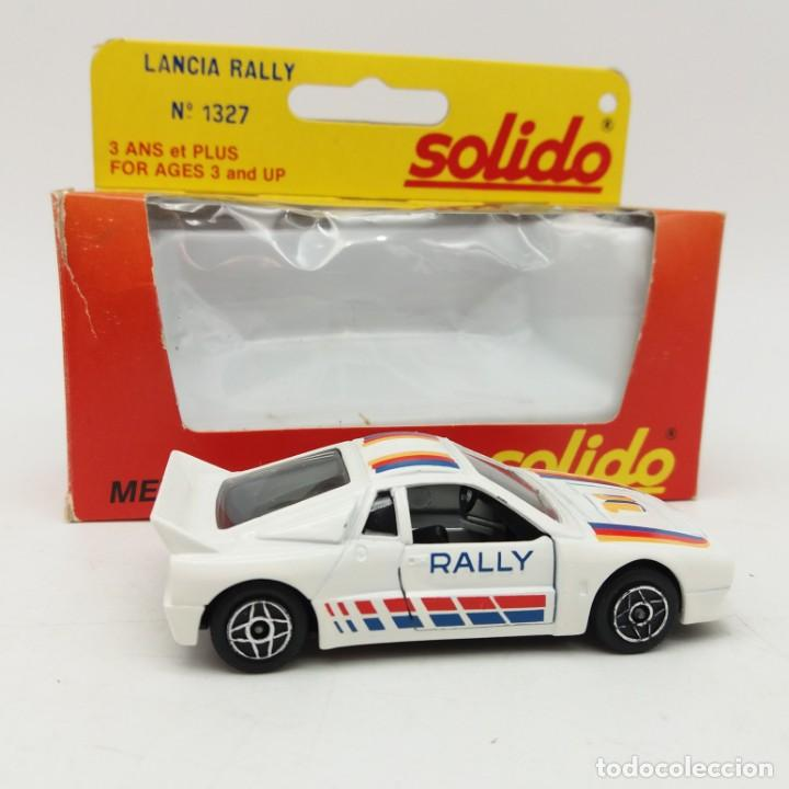 Coches a escala: Lancia Rally de SÓLIDO año 1983 - No jugado - Foto 2 - 171044379