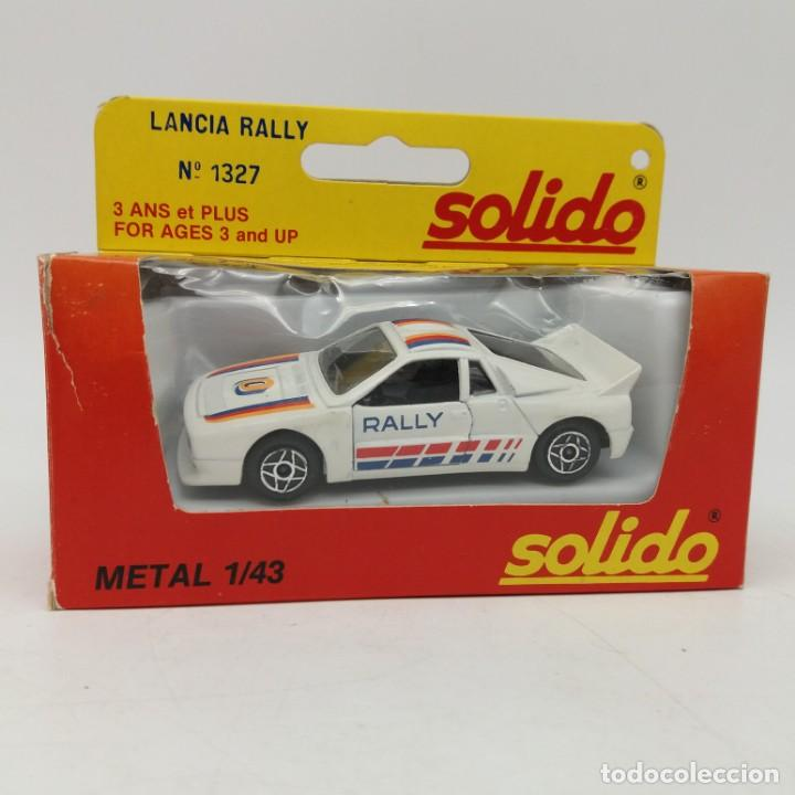 Coches a escala: Lancia Rally de SÓLIDO año 1983 - No jugado - Foto 3 - 171044379